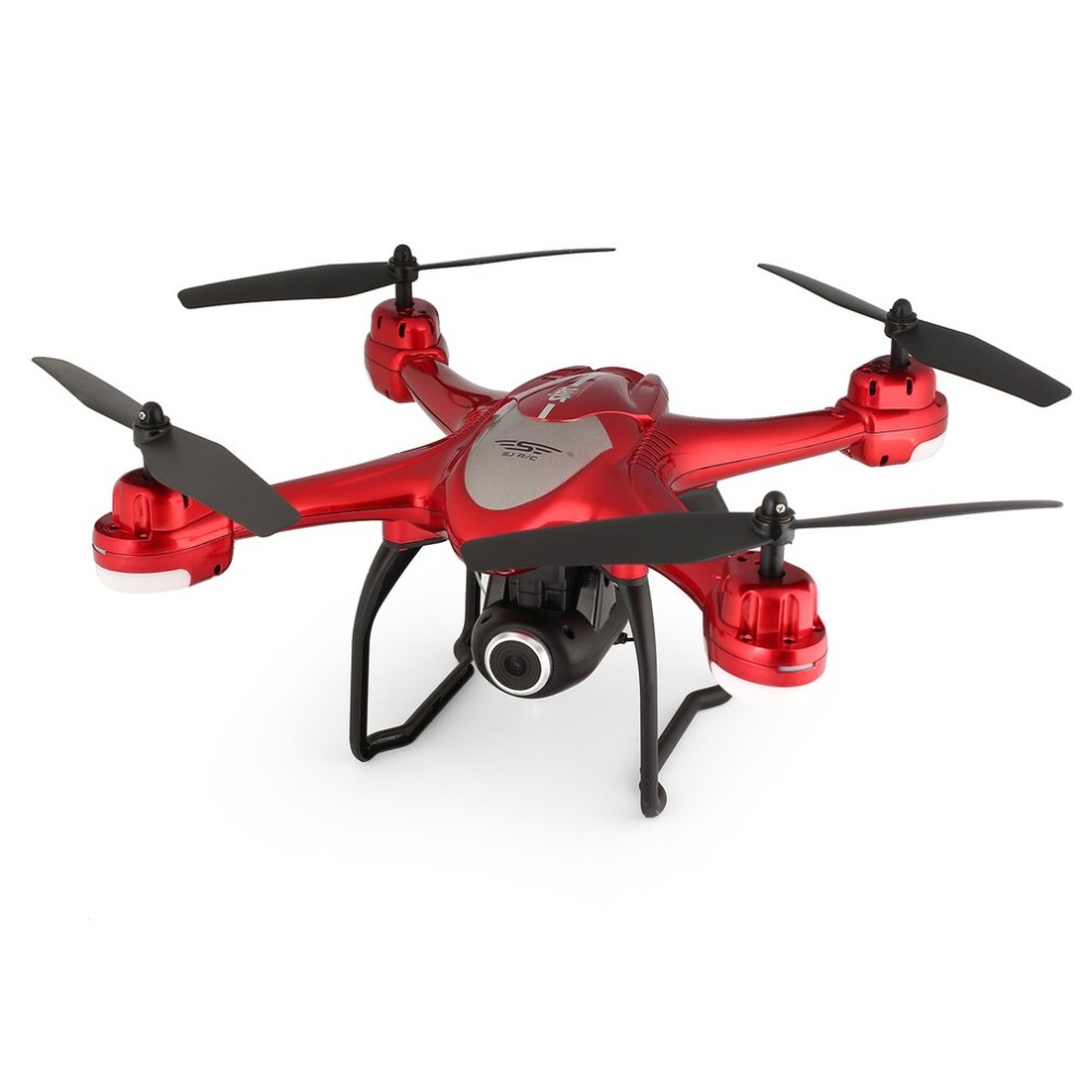 SJ R/C S30W 2.4G Dual GPS Positioning FPV RC Quadcopter Drone with 7P Adjustable Wide Angle Wifi Camera Follow Me Hovering 18