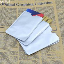 NAI YUE 10pcs/1Pack RFID Protector Sleeves Safety Secure Credit Card Holder Blocking Case Wholesale Hot Sale