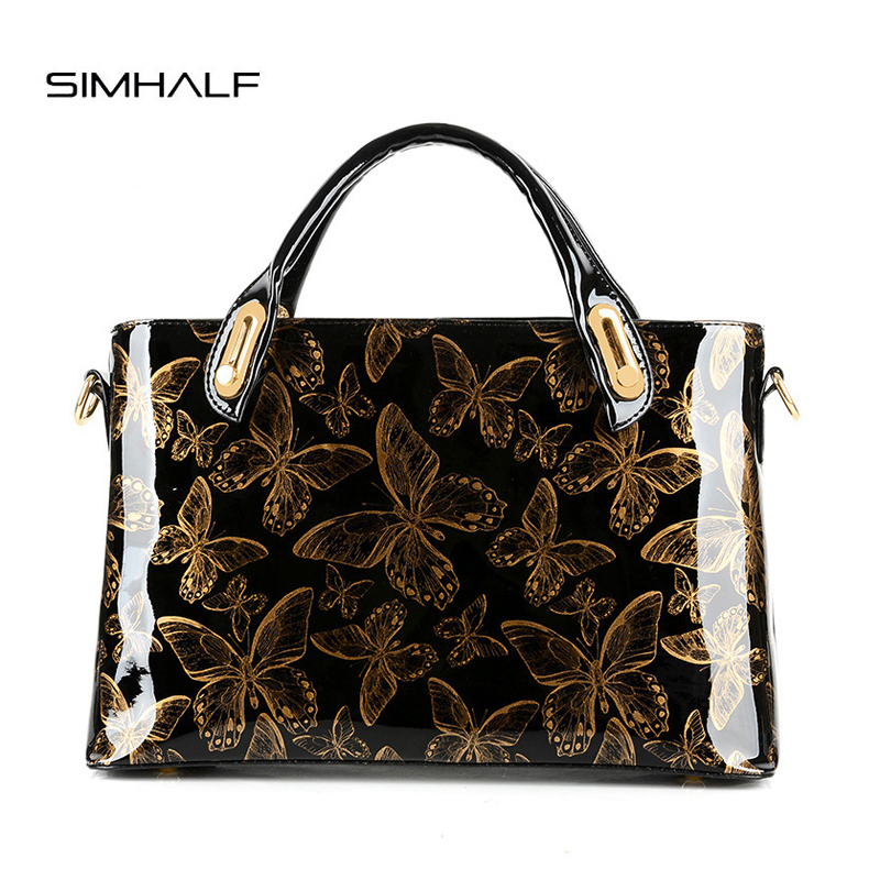 SIMHALF Women Messenger Tote Bag Female Handbags Shoulder Bag Famous Brand Sac A Main Femme De Marque Pochette<br>