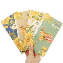 1pcs/lot  173*90mm Hot sell Vintage 48K Blank Cane Vine series Kraft paper notebook/Memo pad/nice gift/office school supplies
