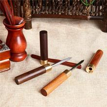 Puerh tea Knife needle Tools cone thickening stainless steel metal insert tea set High Quality puer knife tea Pry Tool