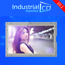 Industial 10.1 inch widescreen monitor 10.1 inch 1024*600 resolution LCD 4-wire resistive touch screen monitors