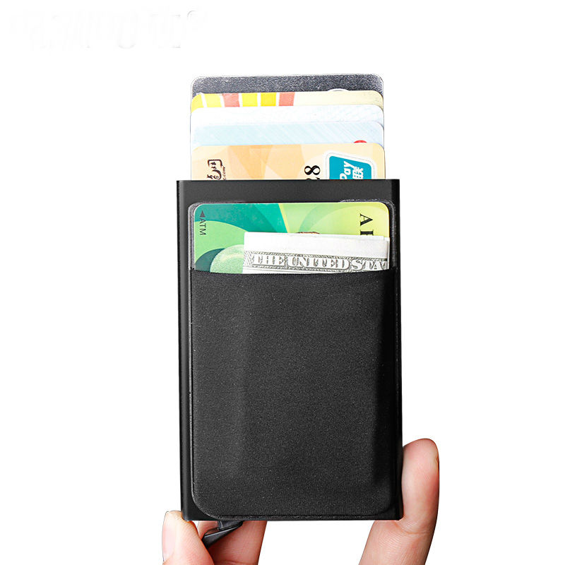 Yaodeniso-2017-NEW-Antitheft-men-women-wallet-leather-mini-RFID-purse-automatic-business-card-case-cdit