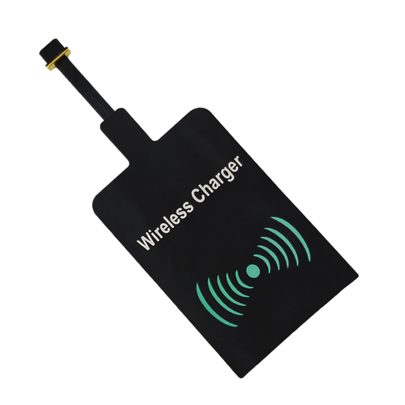 CHUNFA Universal Qi Receiver Samsung Galaxy S5 J7 J3 J5 A3 Wireless Charger Receiver Adapter Android Phone Charging Coil