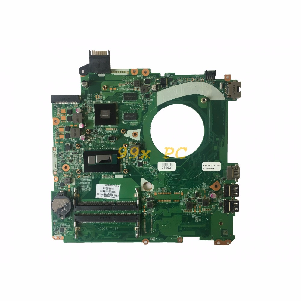LAOKE FOR HP Pavilion 15-P Laptop Motherboard W/ I5-4210U CPU 766476-501 DAY11AMB6E0 W/ 830M 2GB GPU DDR3 Test ok