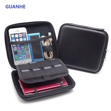 GUANHE waterproof Carry Case Power Bank Phone USB Phone Protect Bag Hard Disk Drive disk for NINTENDO 2DS(China)