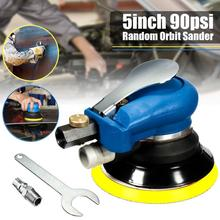 5 Inch Random Orbital Air For Palm Sander & Car Polisher Vacuum Cleaner Set Tool 5inch Polishing Machine Power Tools(China)
