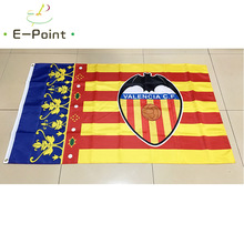 Spain La Liga Valencia CF 3ft*5ft (90*150cm) Size Christmas Decorations for Home Flag Banner Gifts(China)