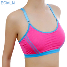 Sexy Women Stretch Bra Lady Casual Bras Seamless Breathable Push Up Fitness Bras Leisure