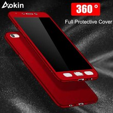 Buy Aokin Phone cases Xiaomi Mi A1 Mi 5X Luxury Hard 360 Full Cover Protection Case Xiaomi mia1 Case Tempered Glass for $2.75 in AliExpress store