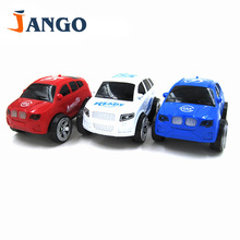 Kids Toy Car miniature truck plastic Rotate 360 degrees Toy Vehicles red white blue car toys for children Random style