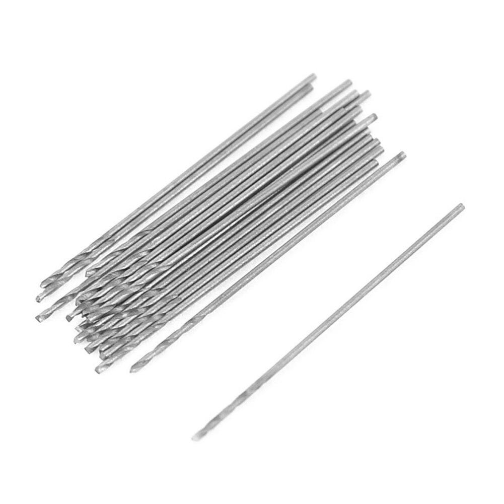 WSFS Hot Sale 20 Pcs 0.5mm Diameter Straight Shank Metal Spiral Twist Drill Bit<br><br>Aliexpress
