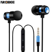 Ear Phones NKOBEE M7 In-Ear Earphone For Phone Earbuds Sport Earphone Headset Earphones For iPhone Samsung S8 Plus Casque Audio