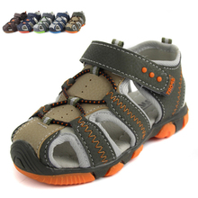 COZULMA 2017 Summer Boys Sandals Children Shoes Leather Casual Sports Sandals Sneakers Kids Anti-slip Hollow Air Sport Sneakers