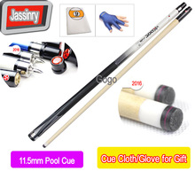 Free shipping Hot-selling 11.5MM Nine-ball Ball Arm Billiard&Pool cues snooker cue stick pole american black 8 tables cudweeds