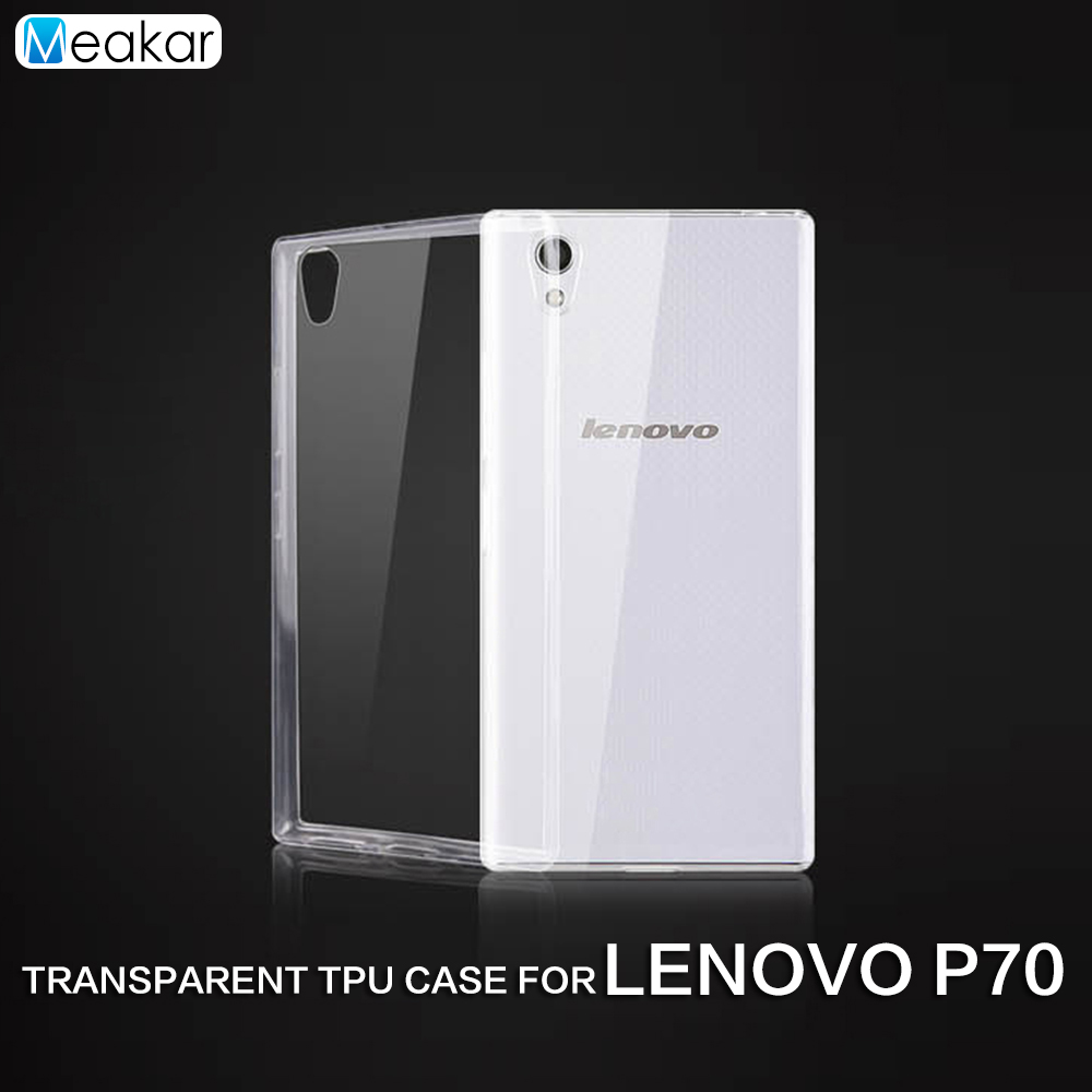 Transparent Soft TPU Silicon 5.0for lenovo p70 Case For lenovo p70 p 70 p70t Cell Phone back Cover Case(China)