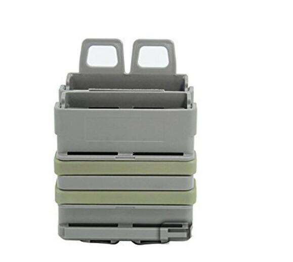 EFOSE New FAST DOUBLE Magazine Holster Pouch Set MOLLE SYSTEM(FG),7.62mm<br><br>Aliexpress