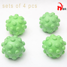 4 pcs /lot Laundry Ball Magic Soft Fresh Fabric Washing Drying Free Shipping(China)
