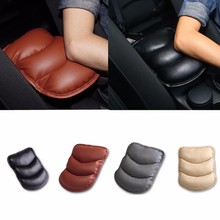 1pc Car Armrests Cover Pad Console Arm Rest Pad For Jeep Commander Compass Grand Cherokee Liberty Patriot Wrangler Any Car