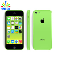 Original Apple iPhone 5C Used Phone 4.0inch Dual Core iOS 1G/RAM 8G/16G/32GROM iphone5c Cell Phone(China)