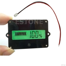 12V LCD Battery Capacity Tester Indicator Lead-acid Lithium LiPo New Voltage Testers Electronic Device Tools(China)