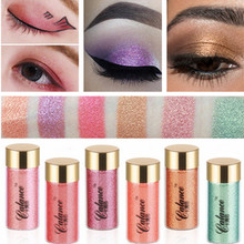 Calance high pigment eyeshadow powder waterproof metallic flash powder glitter mineral spangle stage makeup eye shadow HF010