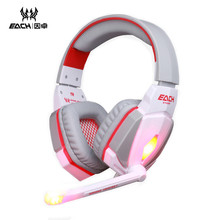 KOTION EACH Original PC Game Music Headphones Headset Computer Gaming for LOL Dota Assassin's Creed Battlefield 4 etc Media
