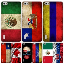 slovak mexico canada chile colombia flag cell phone Cover Case for huawei honor 3C 4A 4X 4C 5X 6 7 8 Y6 Y5 2 II Y560