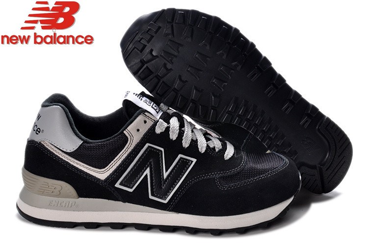 NEW BALANCE 2019 original High Quality Mens Running Shoes ML574BBK Eur40-44 title=