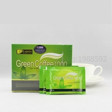 Green Coffee 1000 Nutrition Weight Loss Diet Tea Supplement Burn Fat Slimming Tea MP0093 60Bags for 2 Months Use