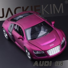 Hot Sale LIFE 1:32  Audi R8  alloy models Cars Models Kids Toys Wholesale Metal Luxurious Diecasts Vehicles Roadster Models