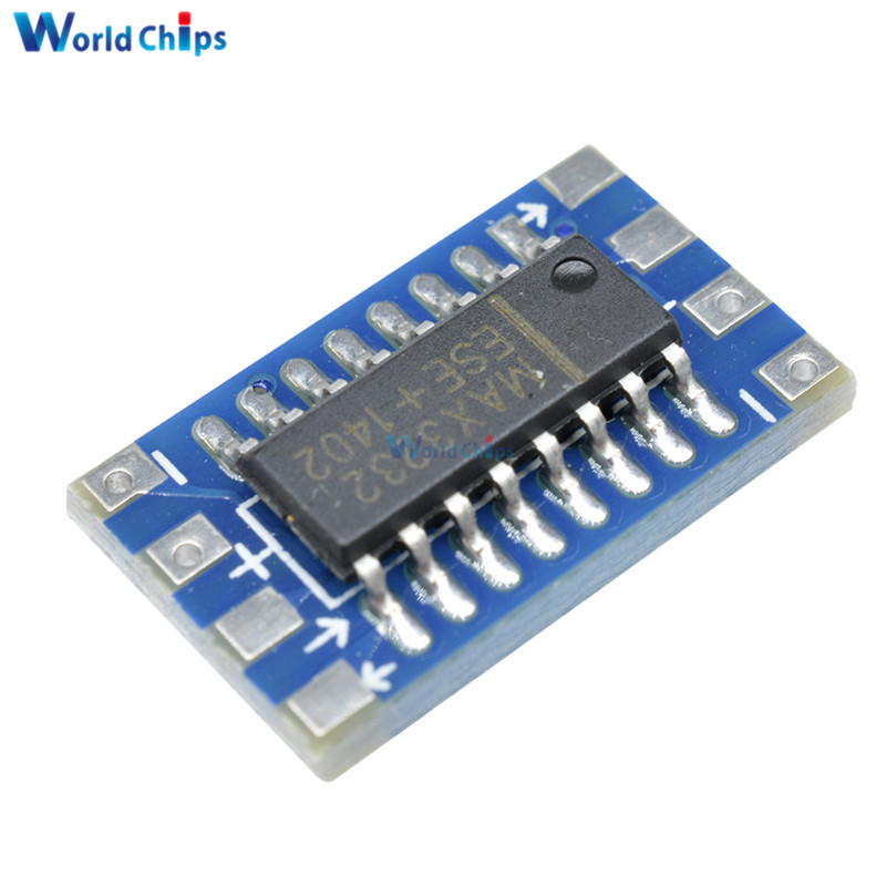 2PCS Serial Port RS232 to TTL Converter Module Board MAX3232 115200bps  SN