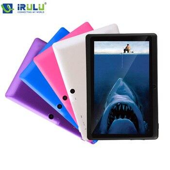 iRULU eXpro X1s 7'' планшет 1024*600 HD Android4.4 система Планшет ПК Allwinner A33 четырехъядерный 16ГБ ПЗУ двойная камера поддержка WIFI с клавиатурой