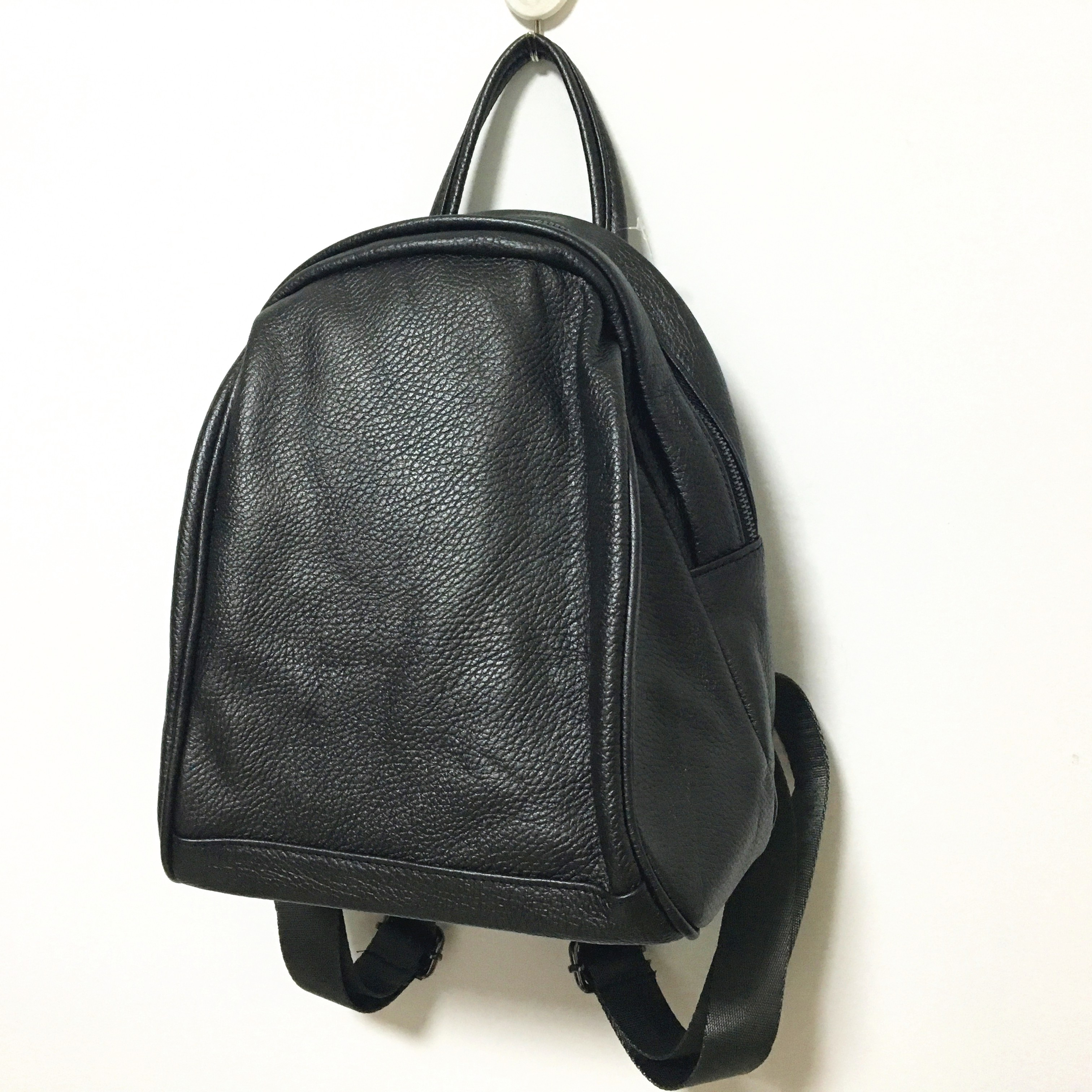 Wholesale Factory Price Vintage Women Backpack 100% Genuine Soft Leather Bagpack Preppy Style Girls School Bags Travel Mochila<br>