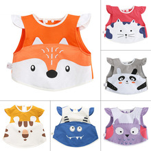 Baby Bibs Cartoon Waterproof Baby Apron Newborn Cotton Saliva Towels Infant Burping Cloth for Baby Feeding 0-3 Years