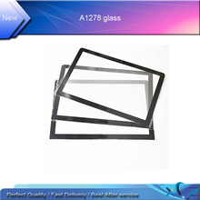 5pcs/Lot Free shipping New A1278 LCD LED Screen Display Glass for macbook pro 13'' A1278 LCD Screen glass China wholesale(China)