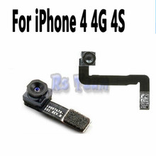 High Quality Front Facing Camera Cam Lens Flex Cable Ribbon Replacement Part For iPhone 4 4S(China)