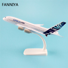 20cm Airbus 380 A380 Airlines Model ProtoMech Aircraft Airplane Model Plane Model W Stand Alloy Metal Model Airplane Crafts Gift