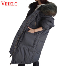 Winter Jacket Women 2016 Winter Wear High Quality Parkas Winter Jackets Outwear Women Long Black Gray Coats D127