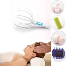 Electric Vibrating Multifunction Scalp Massager Head/Neck Massage Stress Release Heath Care