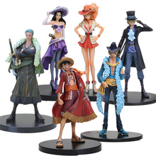 11-18cm Anime One Piece 15th anniversary Sabo PVC Action Figure Collectible Model Toy One Piece Figure(China)