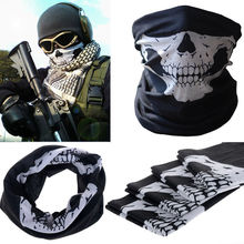 2015New Novelty Skull Wicking Seamless Washouts Scarf/Fashion Cool Outdoor Ride Bandanas/Sport Skull Scarves