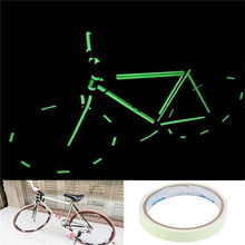10mm*10M Luminous Tape Self-adhesive Night Vision Glow In Dark Wall Sticker Safety Warning Security Stage Decoration(China)