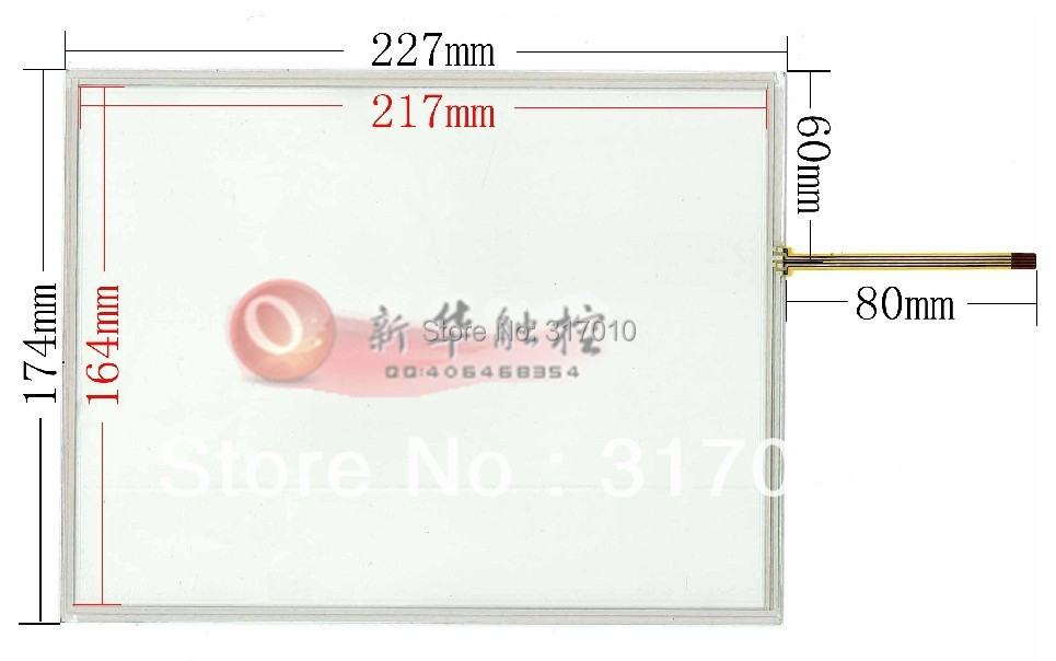 New 10.4 inch 4 wire Resistive Touch Screen Panel + Driven plate suite 227*174mm touch screen digitizer panel free shipping<br><br>Aliexpress