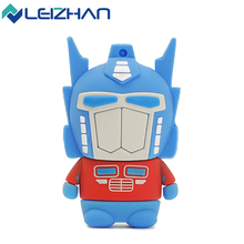 LEIZHAN USB Flash Drive 2.0 Transformers USB Memory Stick 4G 8GB 16GB 32GB 64GB Pendrive Flash Disk USB Pen Drive Storage Device(China)