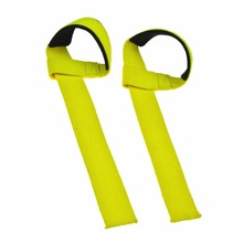 1Pair Crossfit Weight Lifting Strap Hand Wrist Support Straps Gym Gloves Dumbbell Gym Body Building Grip Fitness Equipment(China)