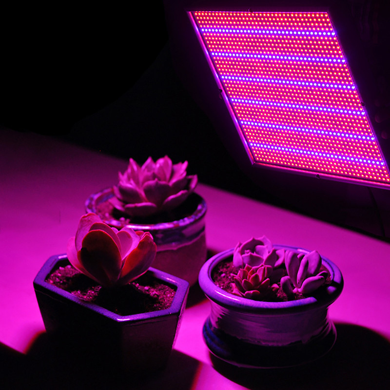 LAIDEYI 120W High Power Plant lamp AC85~265V Full Spectrum LED Greenhouse Plants Hydroponics Flower Panel Grow Light<br>