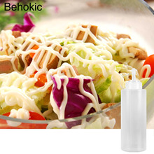 Behokic 12oz Plastic Squeeze Condiment Bottles Dispensers with Caps for BBQ Sauce Olive Oil Hot Sauce Salad Dressing(China)