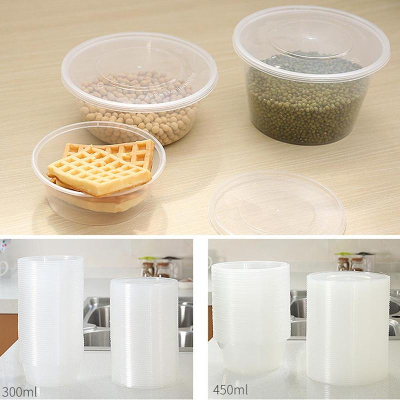 Convenient Eco-friendly 10pcs Disposable Snack Boxes Food Container Packing Boxes Microwaveable Lunch Case Home Wholesale 3(China (Mainland))
