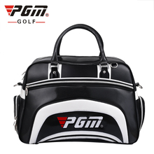 PGM Top Quality Golf Clothing Bag For Man Waterproof PU Leather High Capacity Brand Golf Bag For Shoes Handbag Free Shipping(China)